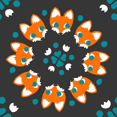 print & patternDesign Based, Foxes Prints, Foxes Graphics, Graphics Design, Foxes Pattern, Blog, Print Patterns, Adorable Foxes, Patterns Prints