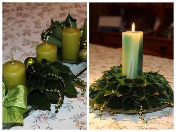 Legszebb karácsonyi asztaldíszek diy