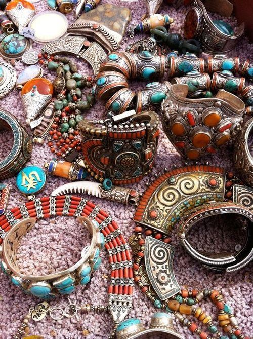 bohemian fashion and jewlery