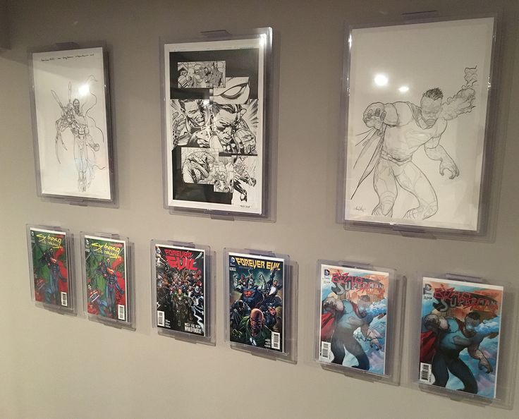 61 best man cave comic book display record album display images on pinterest. Black Bedroom Furniture Sets. Home Design Ideas