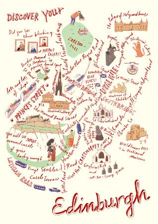 Edinburgh by Masako Kubo. Could prove useful for our forthcoming trip to Edinburgh.
