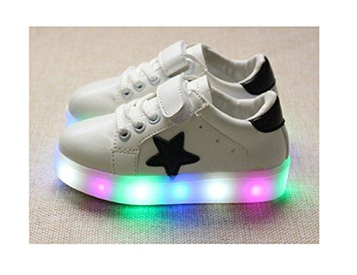Baby Shoes |  Children Shoes LED Light Kids Shoes with light Baby Boys Girls Lighting Sneakers Casual Children Sneakers 11 White -- Read more reviews of the product by visiting the link on the image.-It is an affiliate link to Amazon.