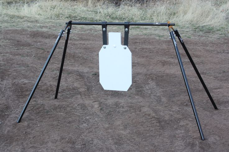 how to build a metal shooting target