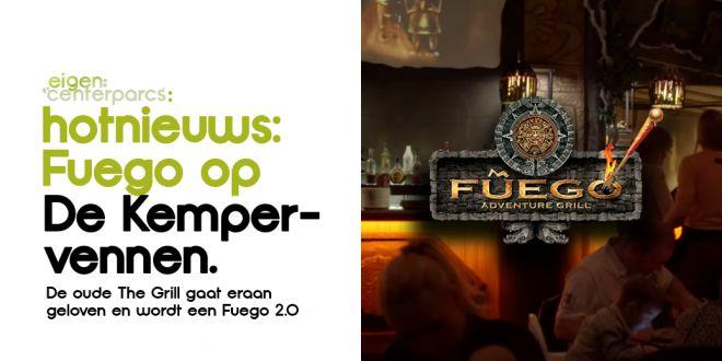Heet nieuws; Kempervennen krijgt een heuse Fuego's 2.0, anders dan in België.