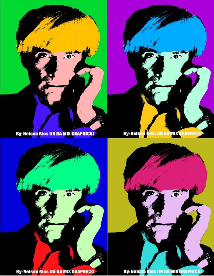 andy warhol art | Painting - Andy Warhol (Pop Art) ~ IN THE MIX GRAPHICS