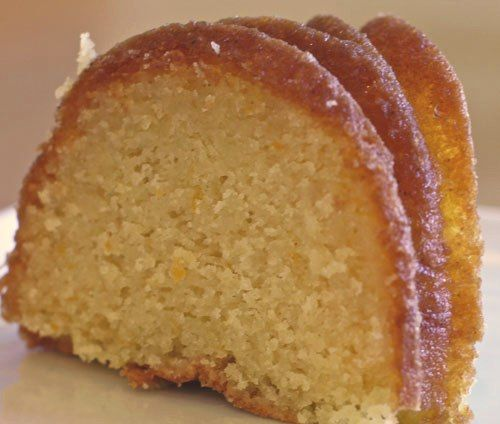 Limoncello Cake – the taste is divine and it's so very moist! This is one of the few cakes I make with a cakemix.