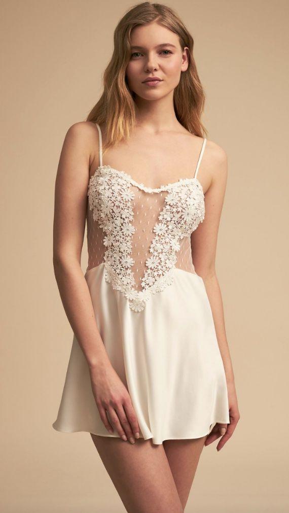 Courtesy of BHLDN; wedding lingerie idea.