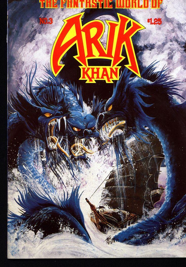 The Fantastic World of Arik Khan #3 Scarce Independent Alternative Comic 1977 Franc Reyes Andromeda Publications Sword & Sorcery Barbarian
