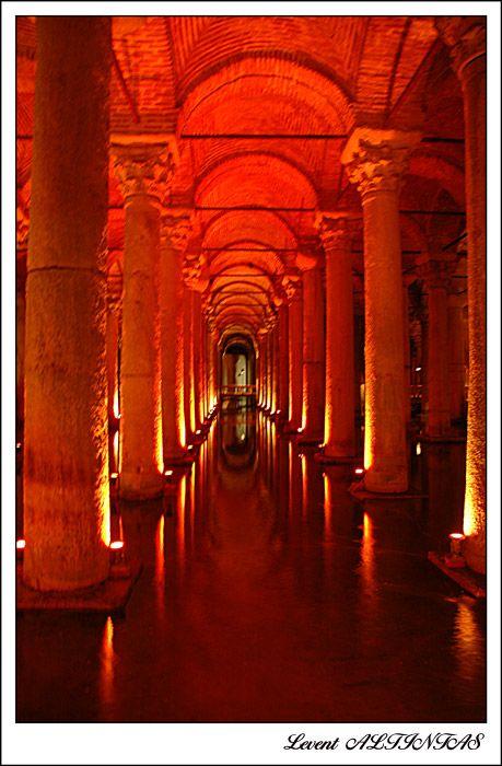 """Basilica Cistern"", Istanbul, Turkey Copyright: Levent ALTINTAS (levocan)"