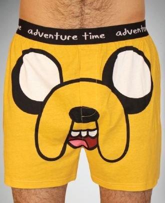 Amazon.com: Adventure Time Jake Men's Boxer Shorts ...