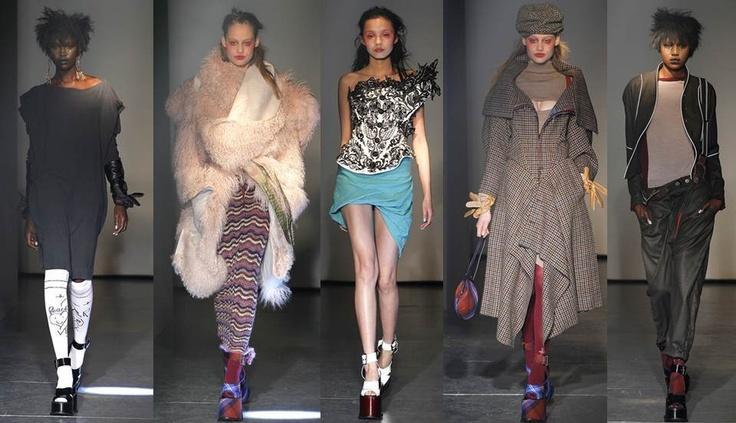 Vivienne Wetwood: La niña terrible de la moda inglesa, nos presenta una colección urbana, ecléctica y como siempre muy original… definitivamente una Trendsetter