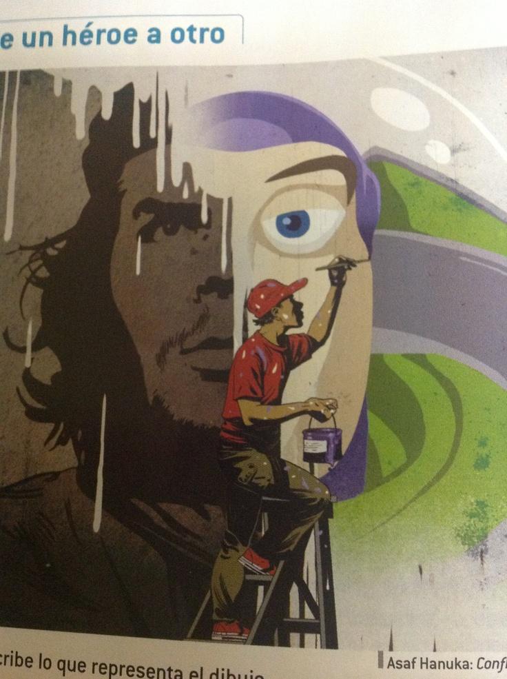De un héroe a otro, del Che a Buzz el Relampago