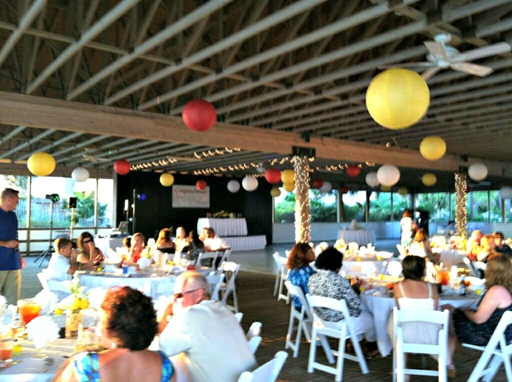 a festive reception at boardwalk beach resort in panama