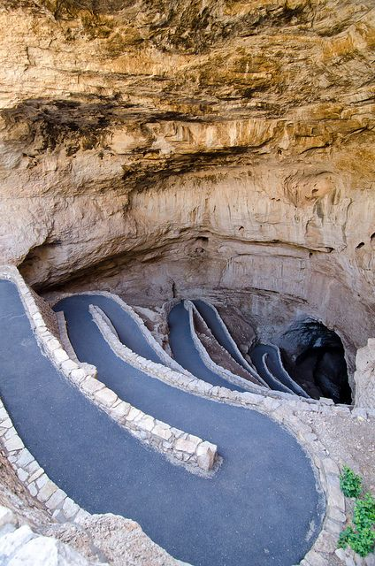Natural Entrance, Carlsbad Caverns National Park, New Mexico