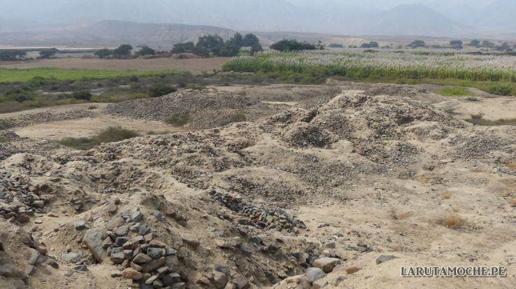 1/ PÉRIODE FORMATIVE ANCIENNE / HUACA DE LOS REYES. C'est un site de la sierra / hautes-terres à la structure complexe : la principale est composées de plusieurs emboîtements de plateformes de pierre et d'argile. Ces structures ont été réalisées par phases successives et cela fait le débat des chercheurs qui tentent de les dater ; on ne sait pas si elles étaient utilisées de manière concomitante.