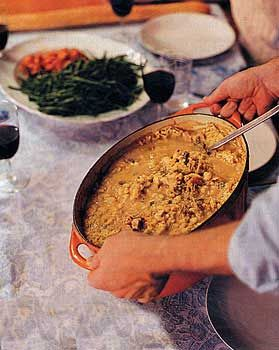 I've had the pleasure of visiting Toulouse and enjoying a cassoulet at a local bistro.  Delicious!  Try a cassoulet the next time you sample a wine from the South-West of France.  Here's an authentic recipe adapted from Julia Child that takes 2 days to prepare.  http://www.epicurious.com/recipes/food/photo/Michael-Lewiss-Cassoulet-de-Canard-104755#  #wine #recipe