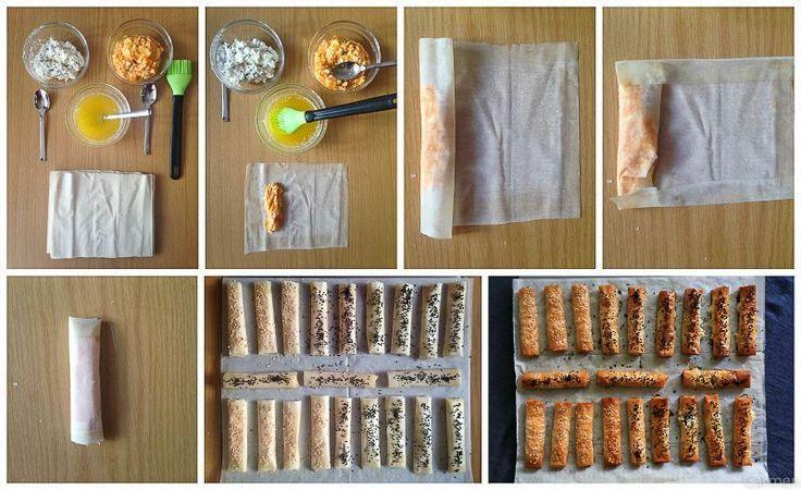 Cigarros turcos de pasta filo - No quieres caldo? ... Pues toma 2 tazas.