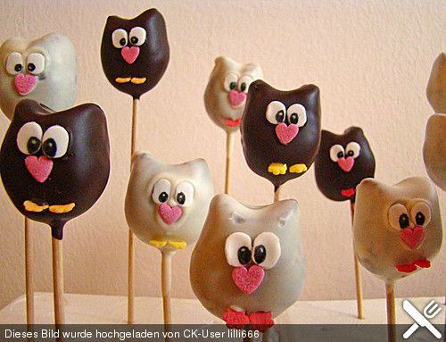 Schoko Cakepops