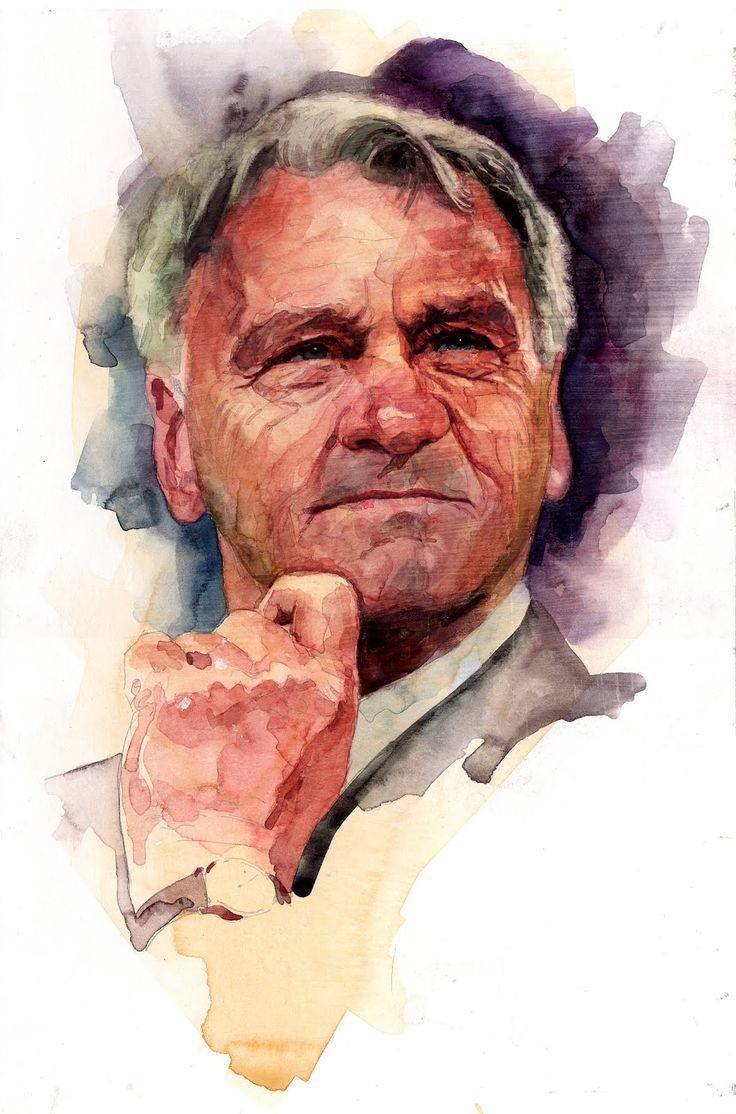 Bobby Robson by Stephen Gardner
