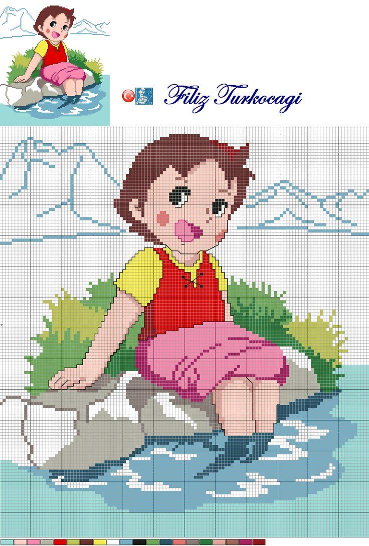 Heidi pattern designed by Filiz Türkocağı