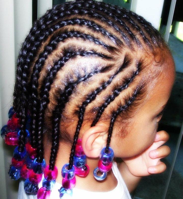 Enjoyable 1000 Ideas About Cornrow Styles For Kids On Pinterest Children Short Hairstyles For Black Women Fulllsitofus