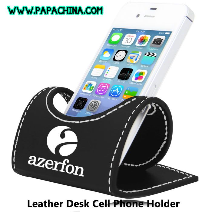 A great amount of awareness of your brand can be achieved among your customer by equipping them with Leather Desk Cell Phone Holder which has great features that includes folds flat, lightweight, easy setup and your customers can use it as holding cell phone, business card holder. http://bit.ly/1R7sC5m