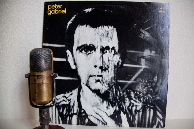 "Peter Gabriel (Genesis)  Vinyl Record Album 1980s Art Pop Experimental LP ""Peter Gabriel"" (1980 Geffen w/""Biko"" & ""Games Without Frontiers"")"