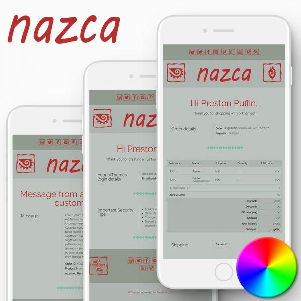 NAZCA PrestaShop Email Templates