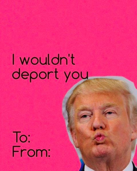 donald trump valentines cards - Google Search