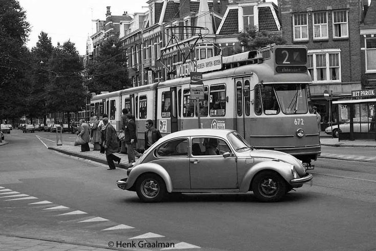 Willemsparkweg Amsterdam (jaartal: 1970 tot 1980) - Foto's SERC