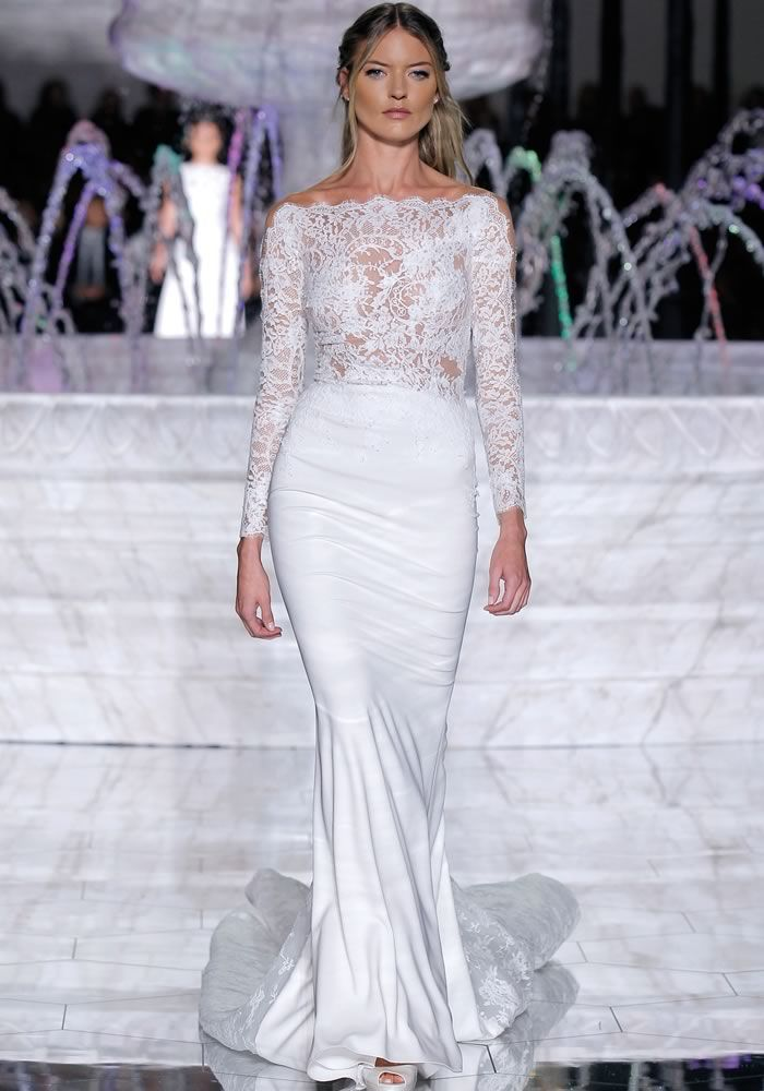 e97faf80f56 Showcasing the Atelier Pronovias 2018 bridal collection on the Wedding  Ideas website - fall in ...