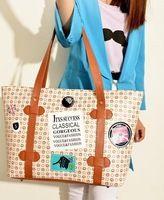 2013 nuevo invierno sello bolsas de hombro diseño simple golpe de color estudiante retro del bolso de señora de las mujeres del bolso el envío libre