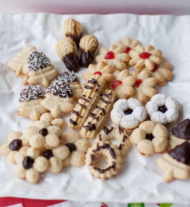 Galletas finas Cookies Pinterest Galleta y Pistola