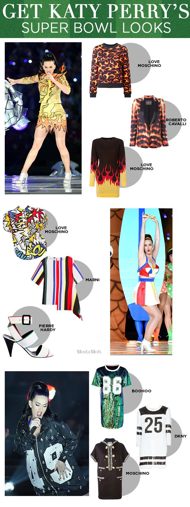 Did Katy Perry's Super Bowl Outfits Put Anyone Else in the Mood to Shop? |#katyperry #lookforless #superbowl