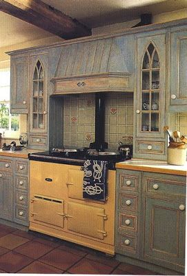 Marvelous Making A Period Kitchen Really Cook ~ The Thrift Shop Romantic