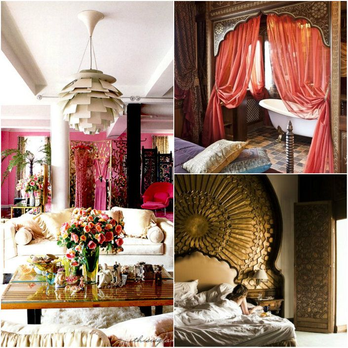 9 simple ideas for a bohemian style home decor moroccan for Simple house decoration ideas