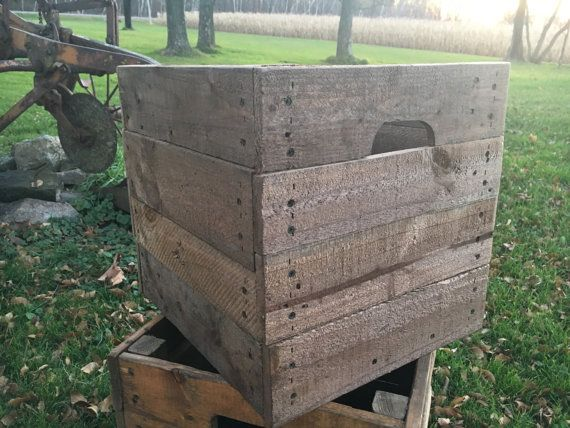 These crates are around 16 x 16. Ready to ship