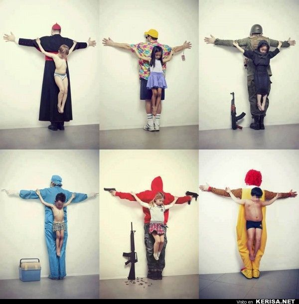 The Untouchables: The Right to Childhood Should be Protected // Images and concept by Erik Ravelo / 2012 Fabrica.  For more: http://erikravelo.info/los-intocables/