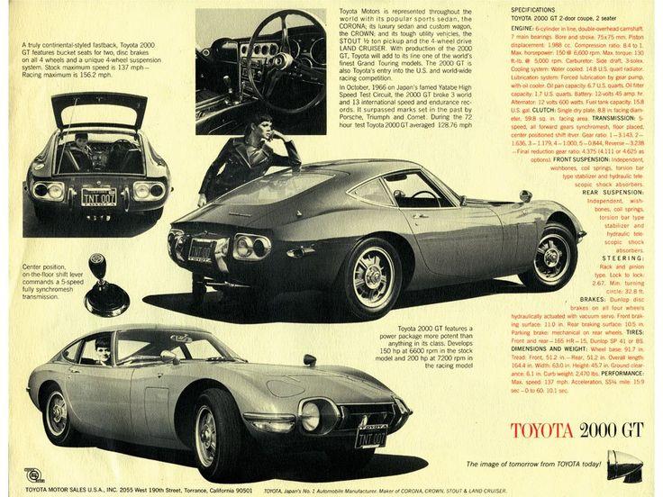 Toyota 2000GT - brochure (1967)