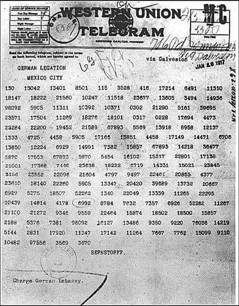 the significance of the zimmerman note for the us in world war i First world warcom - a multimedia history of world war one  in spite of this, it is our intention to endeavour to keep neutral the united states of america.