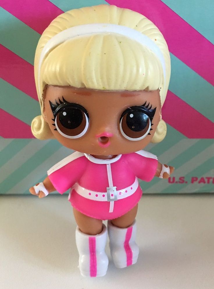 Lol Surprise Doll Under Wraps Series 4 Drag Racer New Pink