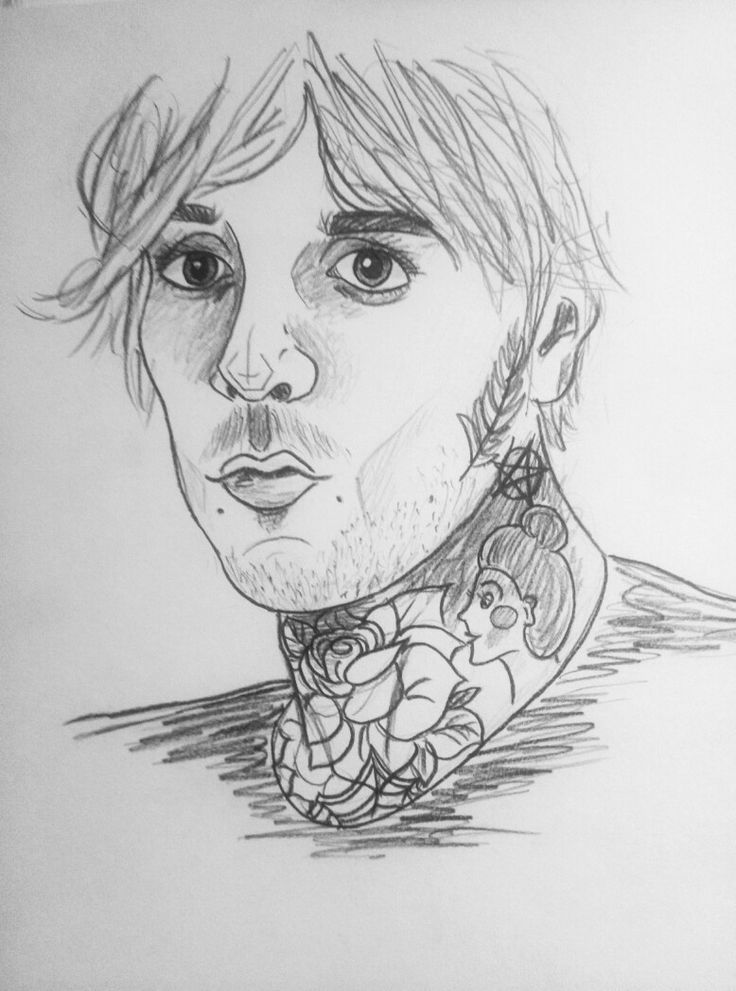 Oliver Sykes bmth drawing