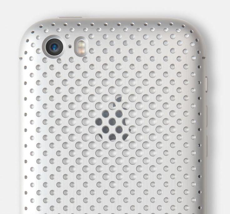 SQUAIR Duralumin Mesh Case for iPhone 5s/5 |SQUAIR