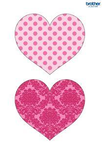 Free Printable Valentine Heart Hanging | Valentine crafts ... Free Printable Valentine's Day Decorations
