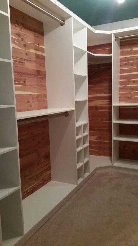 New cedar-lined closet 2