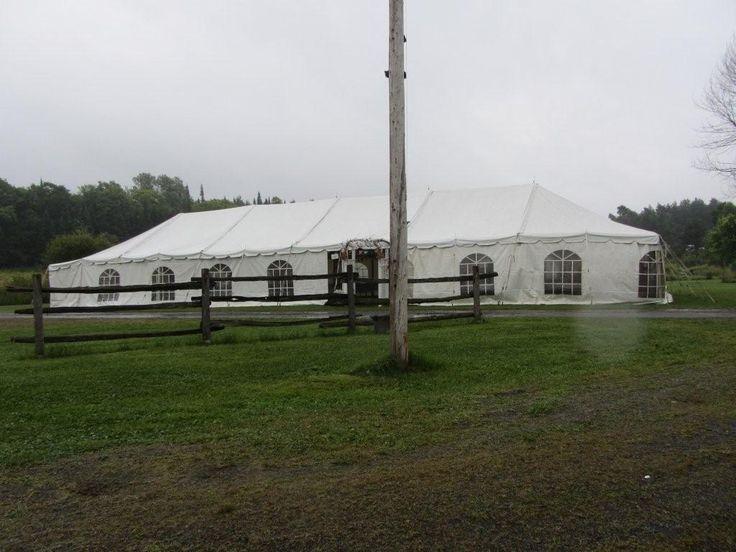 30x30 White Frame Tent