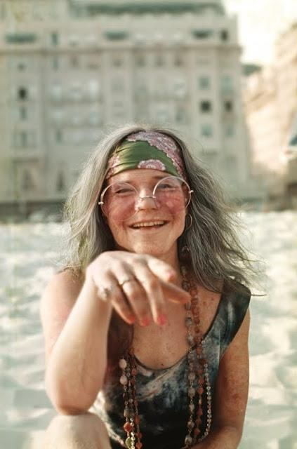 Janis at the Copacabana Palace