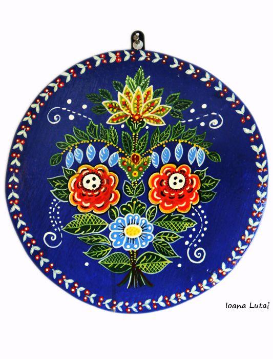Pictura decorativa pe lemn - Ioana Lutai -Icoanepesticla-Sapanta.Ro - foto Cristina Nichitus Roncea
