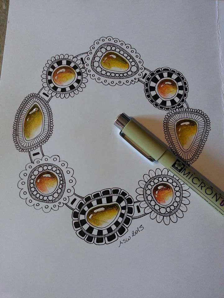 Kai-Zen Doodles: Tangled Gems