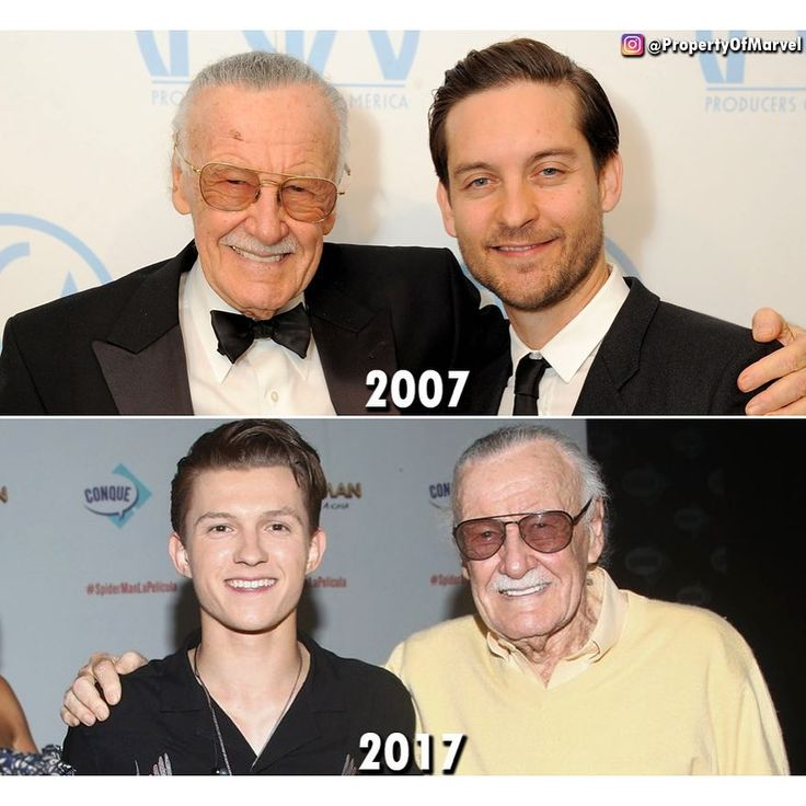 Spiderman is slowly sucking the life out of Stan Lee